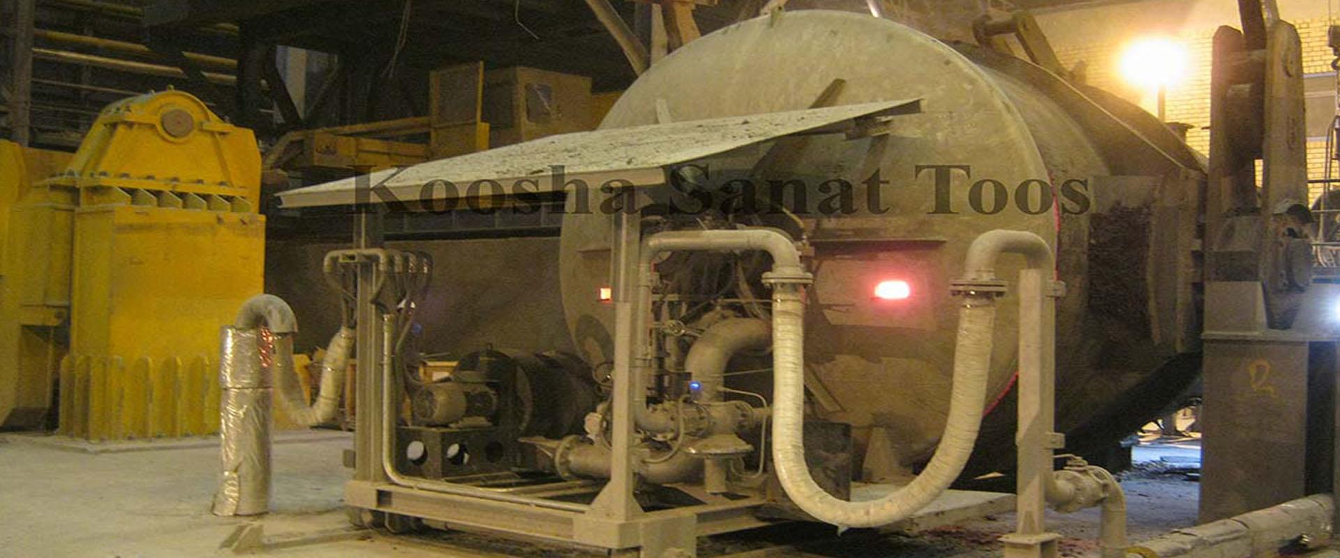 طراح و سازنده انواع پیش گرمکن های صنایع فولاد