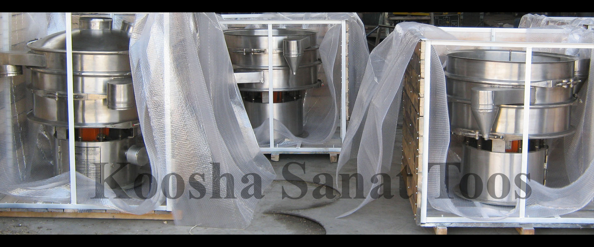 طراح و تولید کننده انواع الکهای صنعتی میکرونیزه