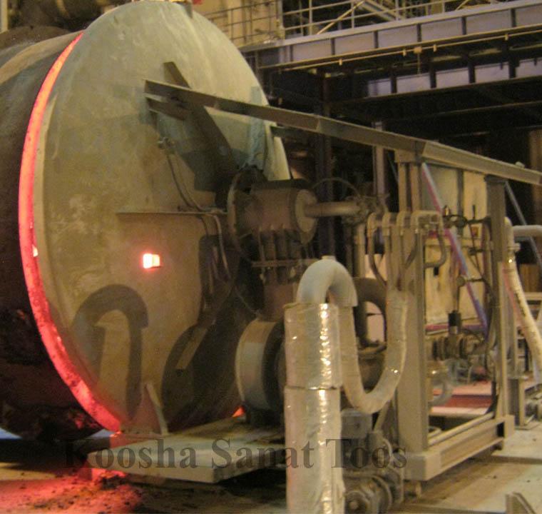 پیش گرمکن و درایر افقی و عمودی صنایغ فولاد کوشا صنعت توس تولید کننده گراب،الک،شیپ لودر،پیش گرمکن صنایع فولادpre Heater